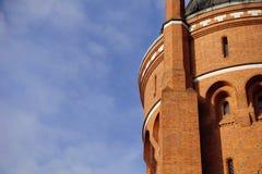Uma torre do neoromanesque Foto de Stock