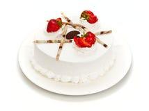 Uma torta com bagas Imagens de Stock