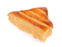 Uma torta da massa folhada com queijo Imagem de Stock Royalty Free