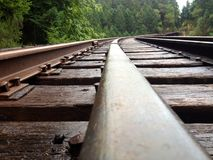 Uma trilha do trem Fotografia de Stock
