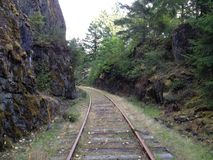 Uma trilha do trem Foto de Stock