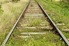 Uma trilha do trem Imagens de Stock