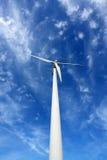 Uma turbina de vento. fotos de stock