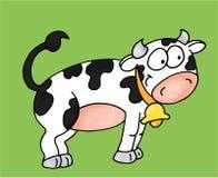 Uma vaca Fotografia de Stock