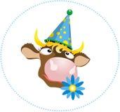 Uma vaca de sonho Imagens de Stock Royalty Free