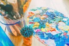 Uma variedade de cores corajosas brilhantes para a inspiração Imagens de Stock Royalty Free