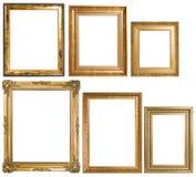 Uma variedade de frames de retrato clássicos Foto de Stock