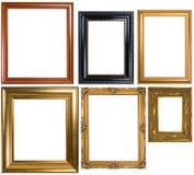 Uma variedade de frames de retrato clássicos Foto de Stock Royalty Free