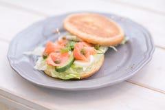 Uma variedade de pratos Imagens de Stock Royalty Free