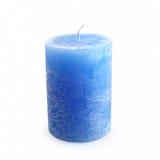 Uma vela azul nova Imagem de Stock