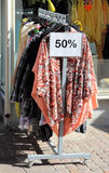 Uma venda 50% fora Imagem de Stock