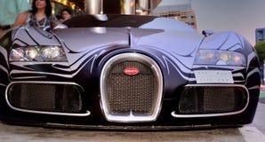 Uma vez que o carro o mais rápido produzido pela indústria fotos de stock royalty free