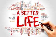 Uma vida melhor Foto de Stock Royalty Free