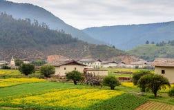 Uma vila bonita Imagem de Stock Royalty Free