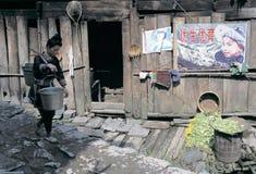 Povos do dong no sudoeste China foto de stock royalty free