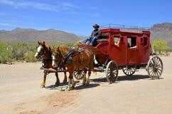Uma vila do vintage de Tucson velho Fotografia de Stock