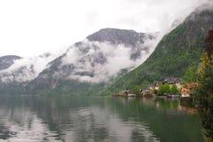 Uma vila em Áustria Fotos de Stock Royalty Free