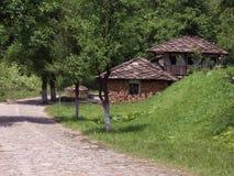 Uma vila em Bulgária Foto de Stock