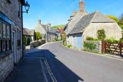 Uma vila inglesa típica Fotografia de Stock Royalty Free