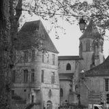 Uma vila pequena bonita fotografia de stock