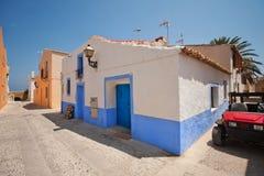 Uma vila pequena na ilha Fotografia de Stock Royalty Free
