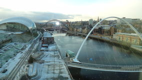 Uma visita a Newcastle em cima de Tyne, Reino Unido Foto de Stock Royalty Free