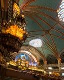 O basillica de Notre Dame em Montreal imagem de stock