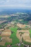 Uma vista aérea Imagem de Stock Royalty Free