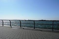 Uma vista bonita de New York City Foto de Stock