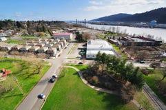 Uma vista bonita do bridgeA histórico de st.johns seja Foto de Stock Royalty Free