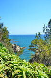 Uma vista bonita do mar, conceito das férias de verão Imagens de Stock Royalty Free
