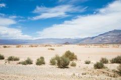Uma vista bonita do Vale da Morte imagem de stock royalty free
