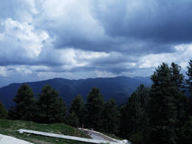 Uma vista bonita dos Himalayas Imagens de Stock Royalty Free