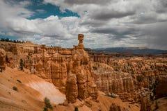 Uma vista bonita em Bryce Canyons fotografia de stock royalty free