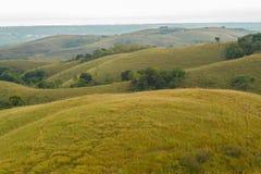 Uma vista bonita em montes de Lendongara Imagem de Stock Royalty Free