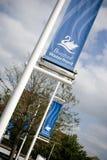 Uma vista da associação de Brayford, Lincoln, Lincolnshire, Reino Unido - Fotografia de Stock