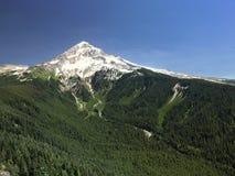 Uma vista da capa da montagem da montanha calva Fotos de Stock Royalty Free