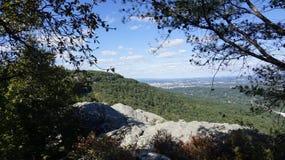 Uma vista da cidade da rocha Foto de Stock