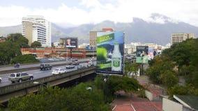 Uma vista da cidade de Caracas imagem de stock royalty free