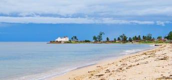 Uma vista da ilha de Moçambique Imagens de Stock