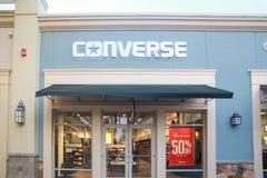 Uma vista da loja inversa em New-jersey imagem de stock royalty free