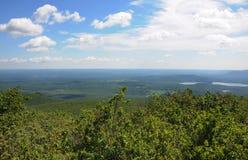 Uma vista da parte superior da montanha Connecticut do urso Foto de Stock