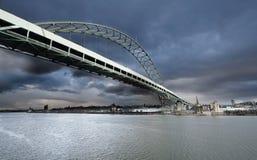 Uma vista da ponte do freemont Imagens de Stock