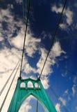 Uma vista da ponte histórica de St Johns Imagem de Stock