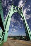 Uma vista da ponte histórica de St Johns Fotografia de Stock Royalty Free