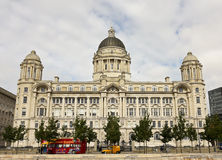 Uma vista da porta do edifício de Liverpool Fotografia de Stock
