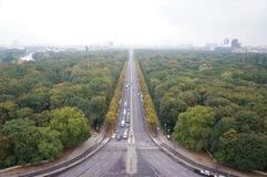 Uma vista de Berlim foto de stock royalty free