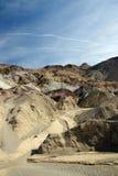 Uma vista de Death Valley Foto de Stock Royalty Free