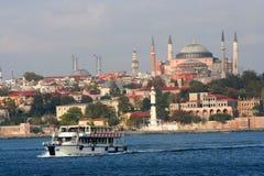 Uma vista de Istambul imagem de stock