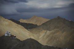Uma vista de Leh, Ladakh Foto de Stock